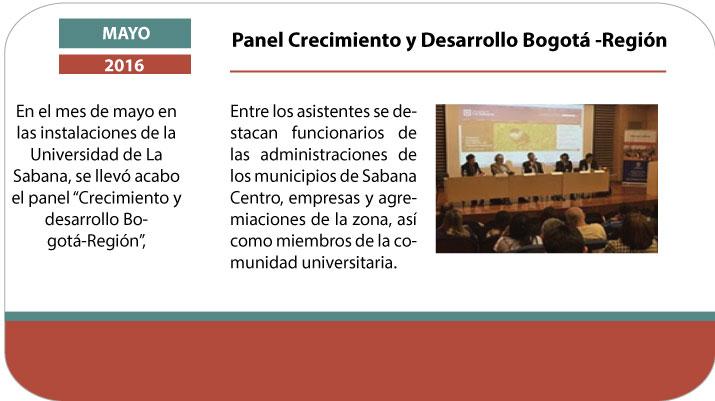 Panel Crecimiento y Desarrollo Bogotá – Región