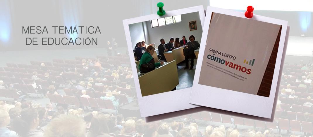 MESA TEMÁTICA DE EDUCACIÓN EN LA UNIVERSIDAD DE LA SABANA