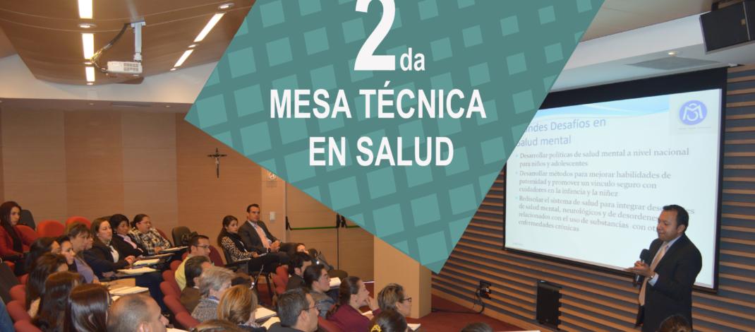 Mesa técnica en Salud Sabana Centro Cómo Vamos