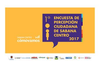 Ingrese aquí para descargar los resultados de la Encuesta de Percepción Ciudadana de Sabana Centro