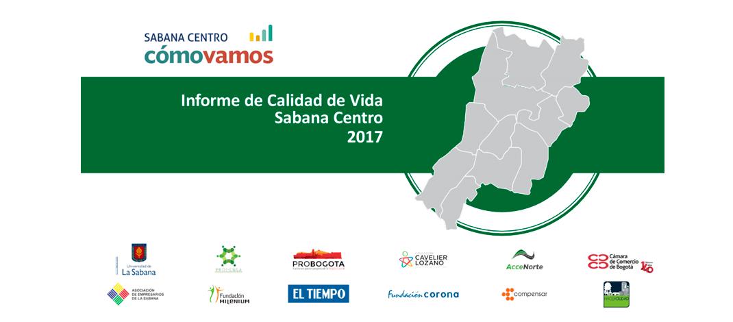 3er. Informe de Calidad de Vida de Sabana Centro (2017)