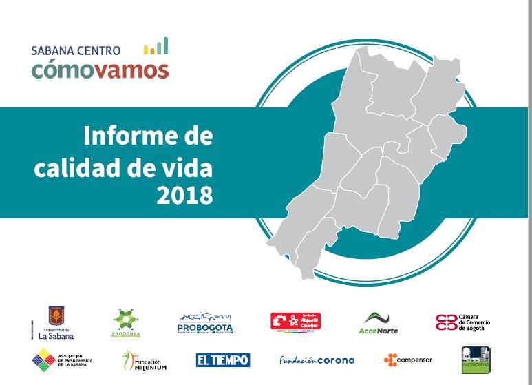4to. Informe de Calidad de Vida de Sabana Centro (2018)