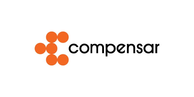 Logo de Compensar